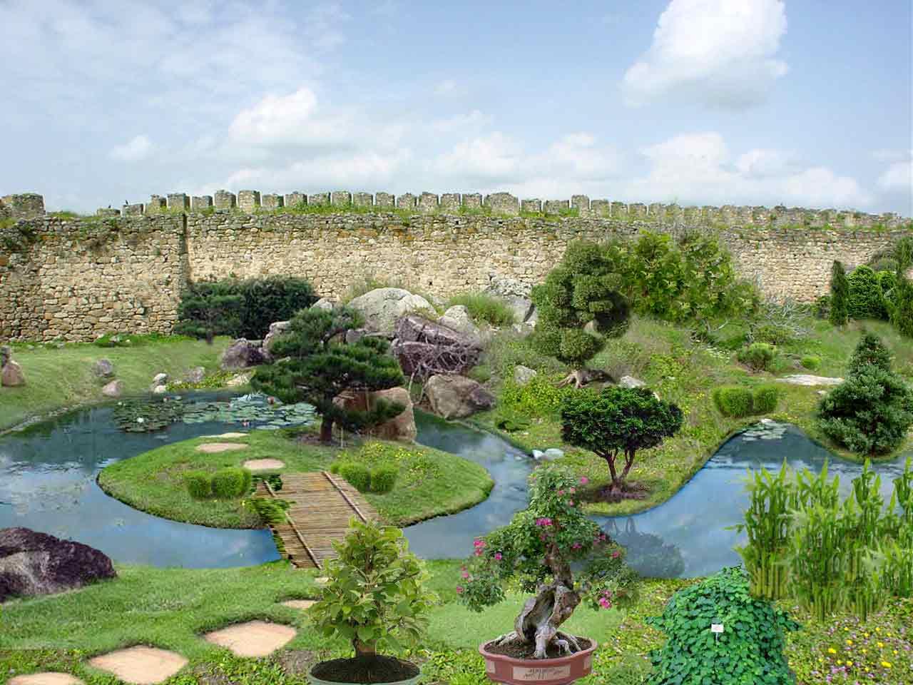 Jardin botanico de trujillo for Lagos de jardin
